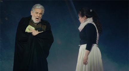 lirica  Plácido Domingo retoma la voz de barítono en I due Foscari