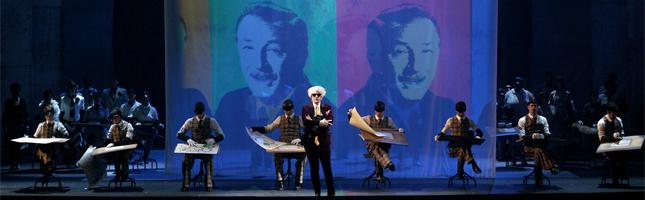 siamo forti  El americano imposible o Disney como el discutible sujeto perfecto para una ópera