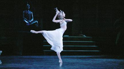 clasica danza  La Bayadera en cine desde el Gran Teatro del Bolshoi