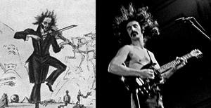 mas madera  Paganini, la primera estrella del rock