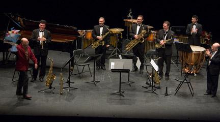 contemporanea  Sax Ensemble toca a Dos Generaciones Vascas en la temporada del CNDM