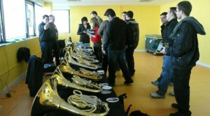 cursos  Clase magistral de trompa en la Brass Academy Alicante