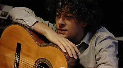 entrevistas  La guitarra gallega de Samuel Diz