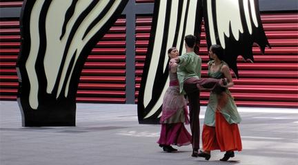 contemporanea danza  Día Internacional de la Danza Asaltos de la Danza en el Museo Reina Sofía