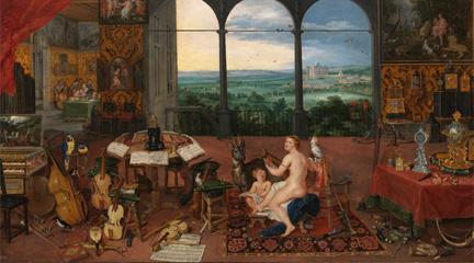 antigua  El sonido de la pintura: Música y libros en el Prado