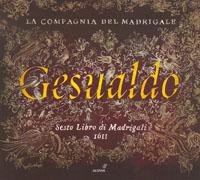 cdsdvds  Madrigales de Gesualdo, el poder de la palabra