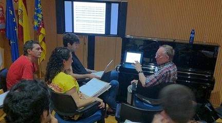 cursos de verano  IV Curso Internacional de Postgrado en Composición Maestro Balada