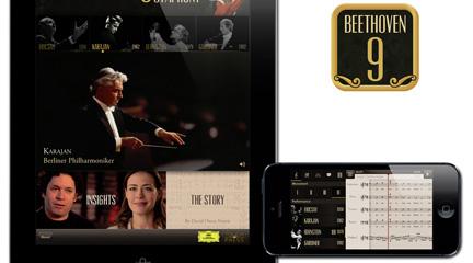 novedades  La Novena Sinfonía de Beethoven llega a tabletas y móviles