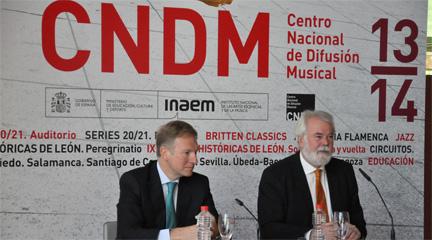 temporadas  Temporada 2013 14 del CNDM, bajo el signo de la expansión y la educación