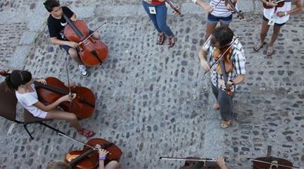 cursos de verano  Verano Musical: Curso internacional para violín, viola, violonchelo y contrabajo