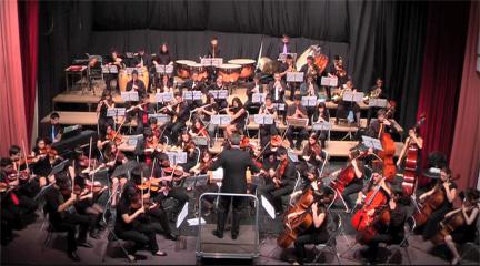 """actualidad de centros  Concierto benéfico de la Orquesta Sinfónica del C.P.M. """"Teresa Berganza"""" de Madrid"""