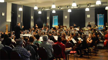internacional  La Joven Banda Sinfónica de la FSMCV en el certamen de Kerkrade