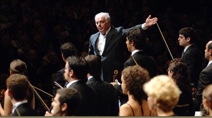 clasica  Gira de la Orquesta WestEastern Divan