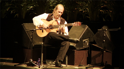 festivales  La guitarra flamenca de Paco de Lucía sonará en la noche de Peralada