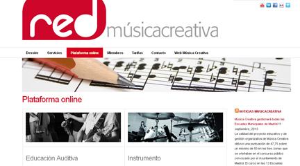 actualidad de centros  Presentación de la Red Música Creativa