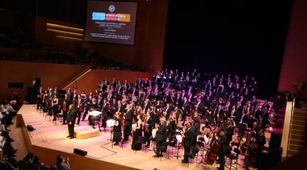 notas  Primer concierto simultáneo de orquestas en defensa de la continuidad de formaciones sinfónicas