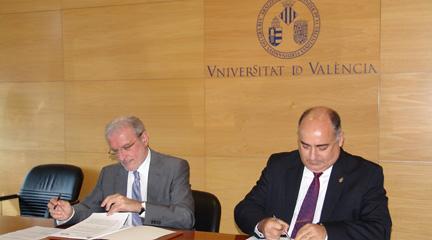 universidad  La FSMCV y la Universidad de Valencia unidos por la enseñanza musical