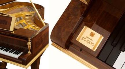 marcas  El piano Bösendorfer número 50.000 supera el medio millón de euros