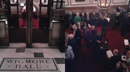 notas al reverso  Schubertiada en el Wigmore Hall