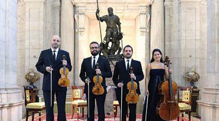 clasica  Segunda cita con el Cuarteto Quiroga y los Stradivari del Palacio Real