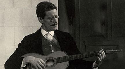 contemporanea  Ciclo de Música contemporánea del Centro José Guerrero en torno a James Joyce