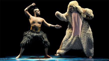 contemporanea danza  Philippe Decouflé y su compañía DCA en los Teatros del Canal