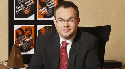 notas  David Mareček, director de la Filarmónica Checa, en Pública 14