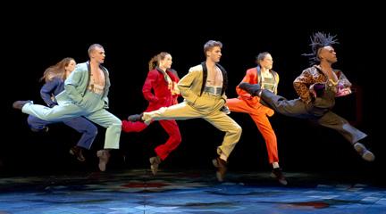 contemporanea danza  Philippe Decouflé, un Panorama de humor colorista