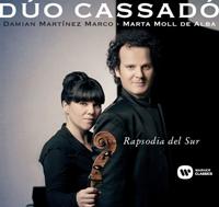 novedades  Rapsodia del Sur, primer álbum del Dúo Cassadó dedicado a Gaspar Cassadó
