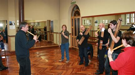 cursos  Talleres de formación para músicos y público general