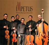 cdsdvds  Ímpetus Madrid Baroque Ensemble en un cd de rodaje