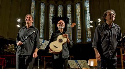 antigua  El conjunto Classico Terzetto Italiano recupera sonidos del pasado