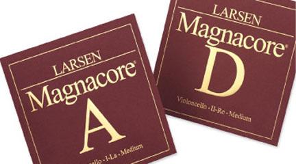 marcas  Nuevas cuerdas para violonchelo LARSEN MAGNACORE   LA y RE