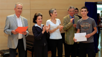 premios  El violonchelista Pablo Pérez Martínez gana la beca Pau Casals 2014