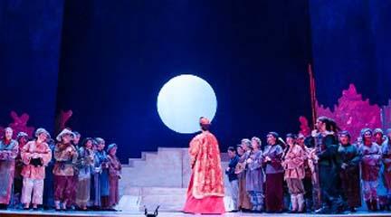 lirica  Turandot en el Teatre Principal de Palma