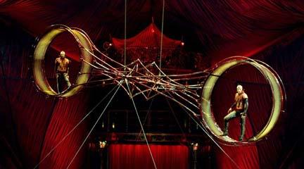 contemporanea danza  Acrobacias y espectáculos aéreos en Cir&Co 2014