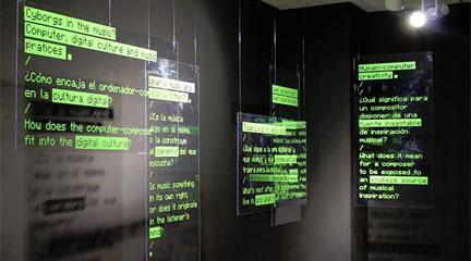 informatica y electronica  Exposición sobre la creatividad artificial en la música en el MIMMA
