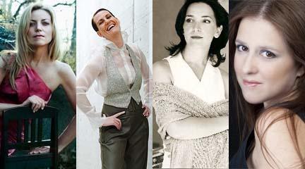 lirica  Voces femeninas en homenaje a Strauss
