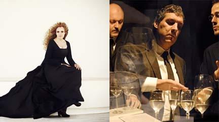 antigua  Neopercusión y Raquel Andueza, un viaje por el tiempo musical
