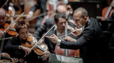 festivales  La Filarmónica de Rotterdam de festivales por el norte