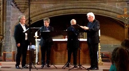 opinion  The Hilliard Ensemble cierra en Ávila una etapa de 40 años de trayectoria musical