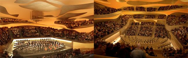 internacional  La Cité de la Musique de París anuncia la apertura de su gran auditorio