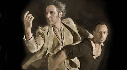contemporanea danza  Chevi Muraday y Ernesto Alterio viajan por el desierto