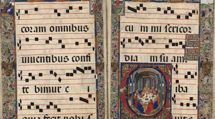 novedades  La Biblioteca Nacional muestra sus cantorales