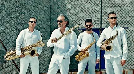 contemporanea  Cien saxofones suenan en el Auditorio Nacional