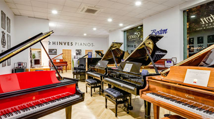 tiendas  Hinves Pianos inaugura el nuevo Centro Steinway & Sons en Madrid