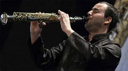 actualidad de centros  Clases magistrales de saxofón en la EMMYD de Boadilla del Monte