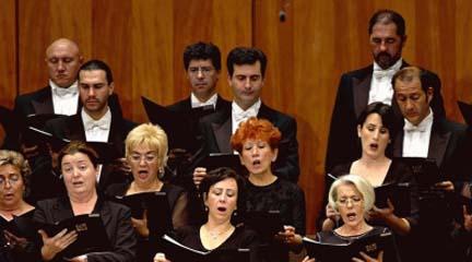 lirica  Comienza el XIII Ciclo de Música Coral del Coro de RTVE con música norteamericana del siglo XX