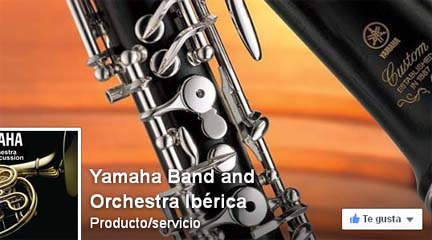 marcas  Yamaha Band and Orchestra en facebook