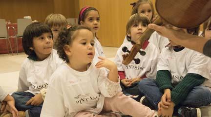 para ninos  Música en familia. Descubre… y Pintasonic, de la mano en el Auditorio Nacional